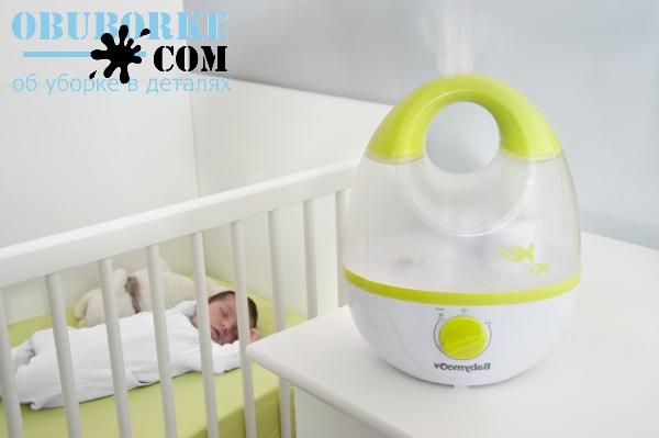 Чем полезен увлажнитель воздуха для новорожденного