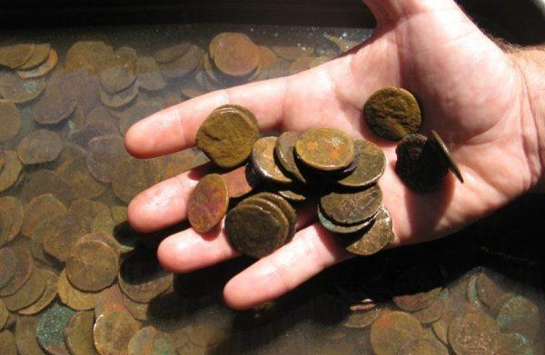 Как почистить старые монеты в домашних условиях и чем 101