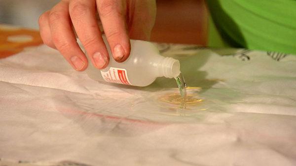 Чем отстирать краску в домашних условиях 271