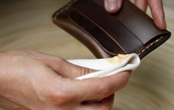 Как отмыть сумку кожзам
