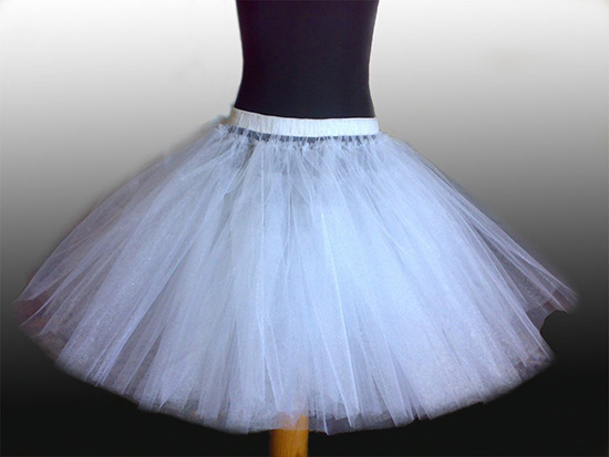Как сшить детский подъюбник для пышного платья 364