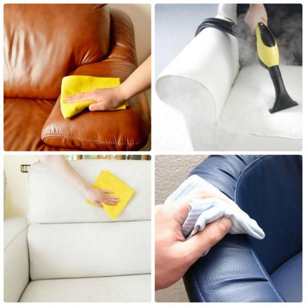 Как помыть белый диван в домашних условиях 920
