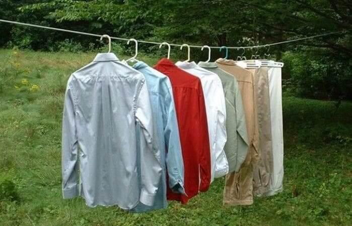 Секрети швидкої і безпечної сушіння речей після прання  303ec12b5cfc3