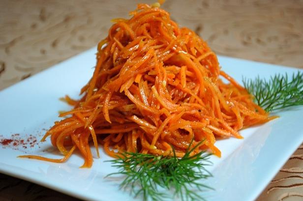 Морковь по корейский рецепт в домашних условиях  780