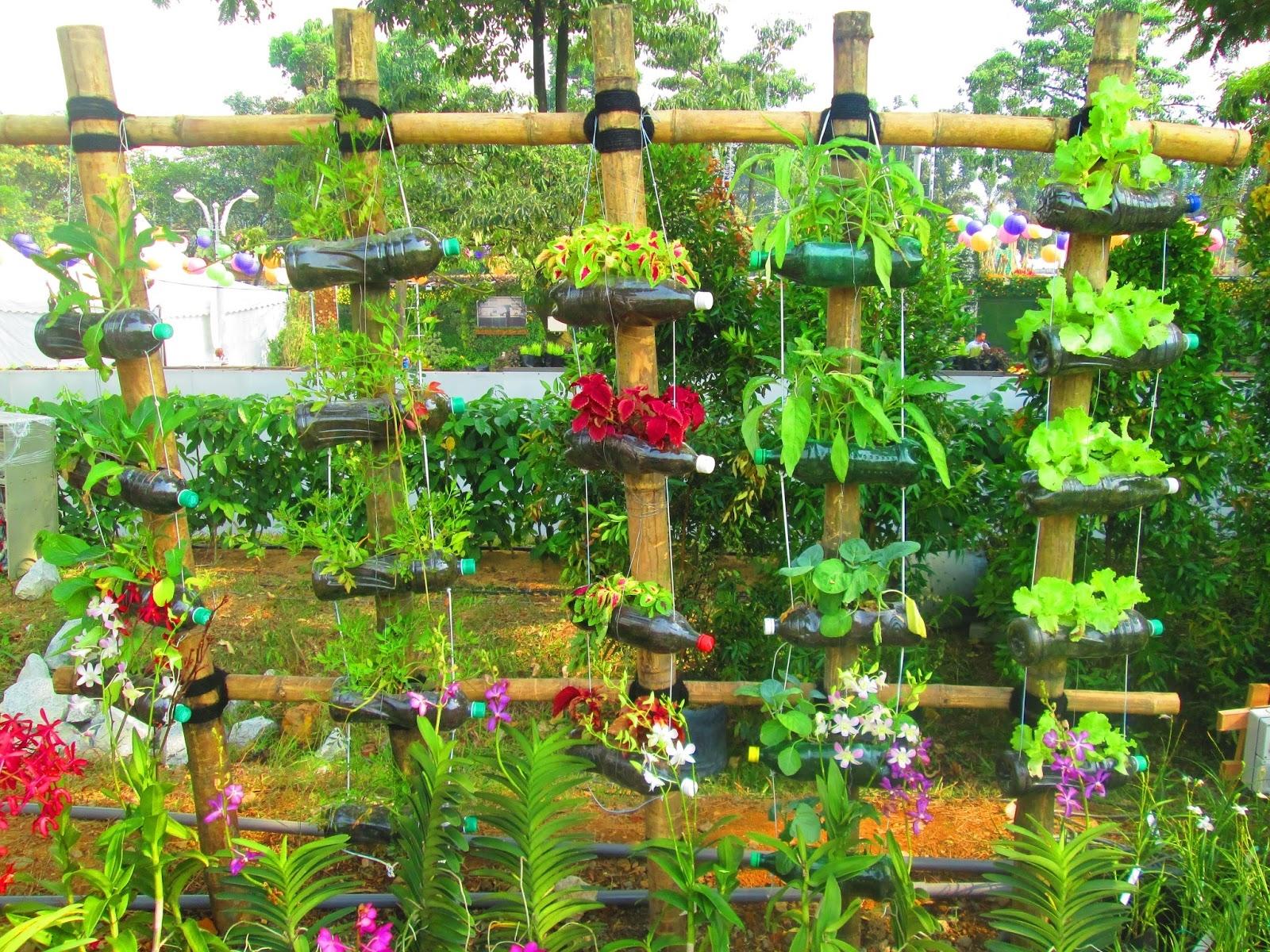 Чем украсить сад и огород своими руками фото