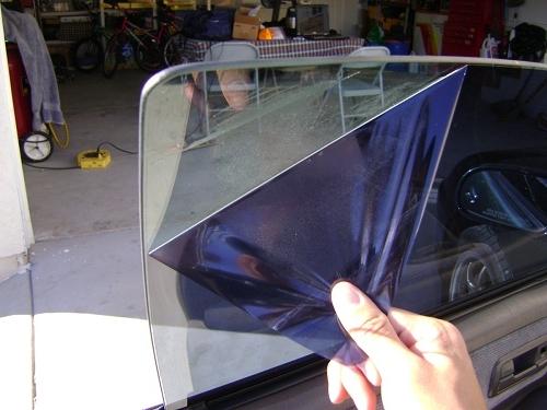 Тонировка без снятия стекол своими руками 27