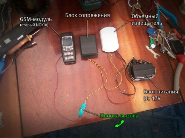 Как сделать телефон на даче