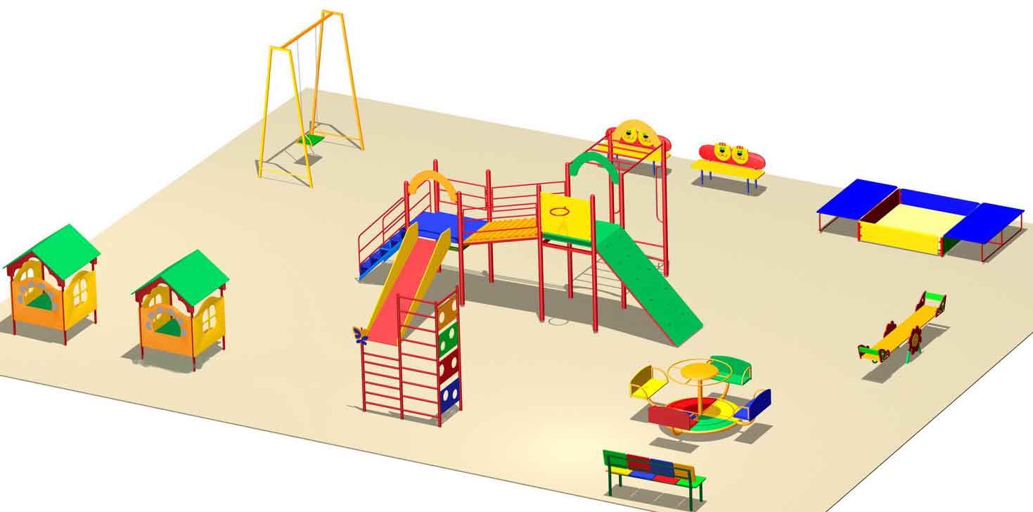 Схема игровой площадки фото