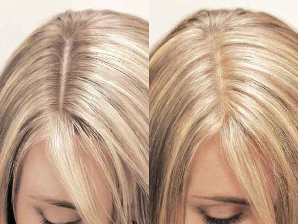 Мелирование на корни волос в домашних условиях 2