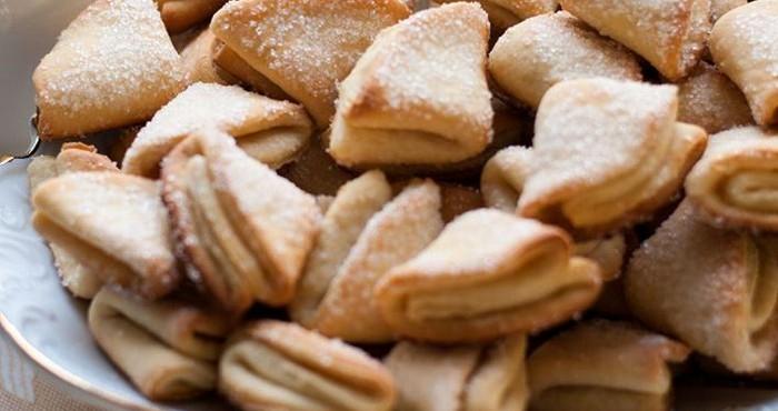 печенье песочное домашнее рецепт на маргарине с творогом