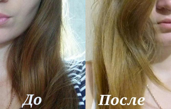Осветление волос без красок в домашних условиях 803