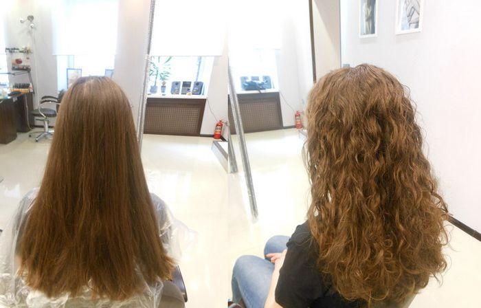 Спіральна хімія  як зробити спіральну хімічну завивку волосся на короткі 22c07edbaba09
