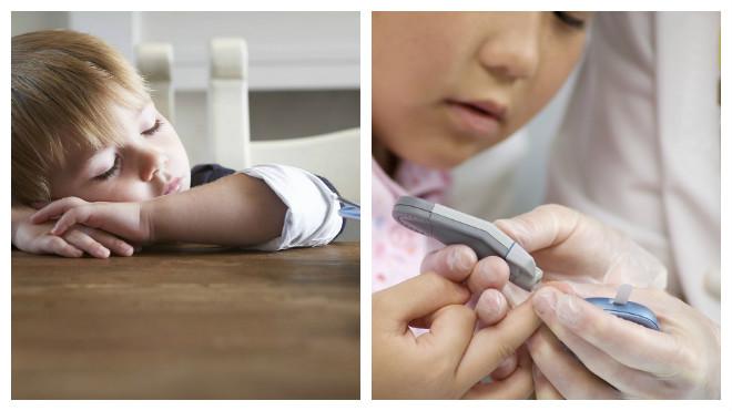 Признаки диабета у детей до года