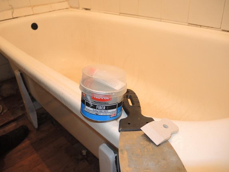 Ремонт пластиковых ванн своими руками 398