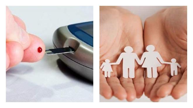 Передача сахарного диабета от отца ребенку