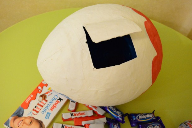 Киндер сюрприз яйцо большое своими руками из бумаги 46