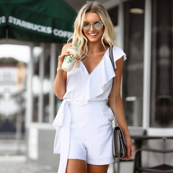 Модні жіночі комбінезони 2018-2019 – фото модних комбінезонів ... 72eb3e3301e78