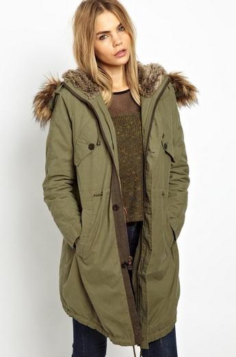 Модні куртки-парки на осінь-зиму 2018-2019 року  фото і кращі образи ... bb3d10c325b47