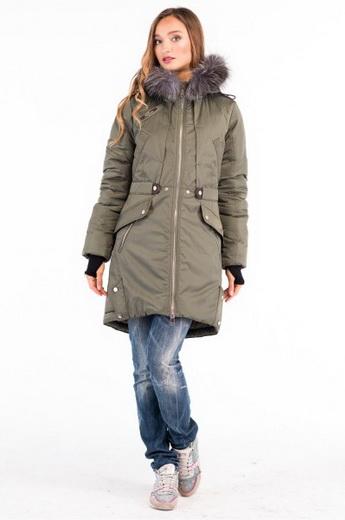 Модні куртки-парки на осінь-зиму 2018-2019 року  фото і кращі образи ... c1add1a0758b8