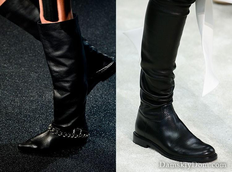 Модні чоботи осінь-зима 2018-2019 фото і тренди  f48b0a1958630