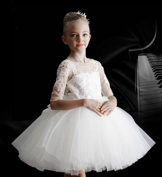 ... сполучень Білі сукні для дівчаток  100 КРАЩИХ новинок 31c852b9a27f1