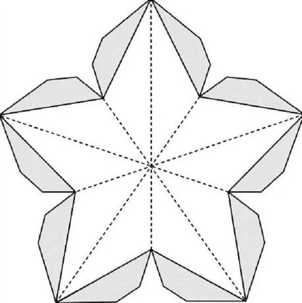 Звезда шаблон для открытки, вставить гиф картинку