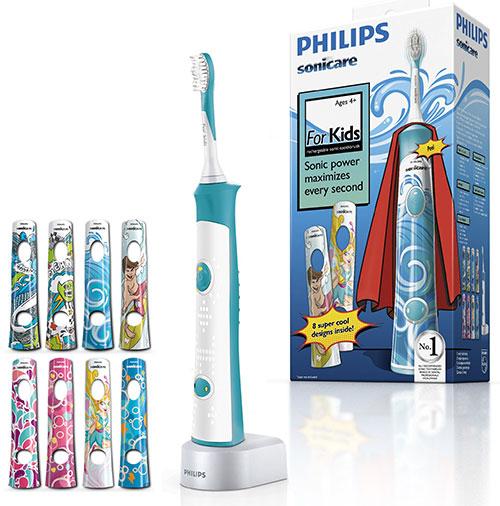 Електричні зубні щітки для дітей і дорослих. Відгуки.  c44868b7ef424