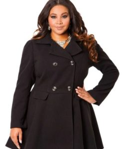 Модні пальто на весну для повних  фасони db3d0a0691f0f