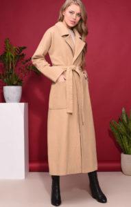 Пальто-халат з поясом  з чим носити 9c04a61715a7e
