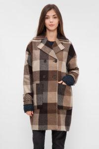 Пальто в клітку  з чим носити модні образи 5639bcce6997d