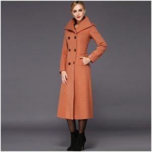 Помаранчеве пальто  з чим носити baaab7fcc6237